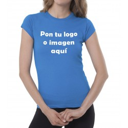 Camiseta Chica Manga Corta Para Personalizar