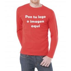 Camiseta Chico Manga Larga Para Personalizar