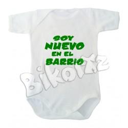 Body Bebé Soy nuevo en el barrio
