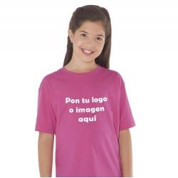 Camiseta Niño/a Vinilo Manga Corta Personalizable