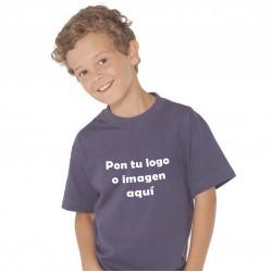 Camiseta Niño/a Transfer Manga Corta Personalizable
