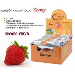 Carbón Coney Fresa