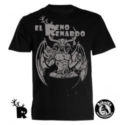 Camiseta Chico Reno Renardo Meriendacena con Satán