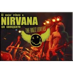 Entradas THE BUZZ LOVERS TRIBUTO NIRVANA + FREE THE WHEEL (22 Octubre) STAGE LIVE