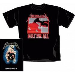 """Camiseta Oficial Metallica """"Kill'em all"""""""