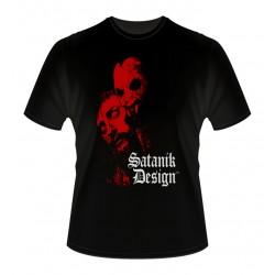 Camiseta Chico Satanik Design Vampire