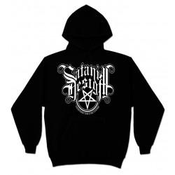 Sudadera Capucha Satanik Design Logo